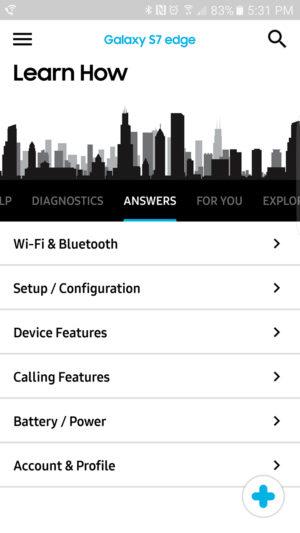 Samsung+ Answers AA 3
