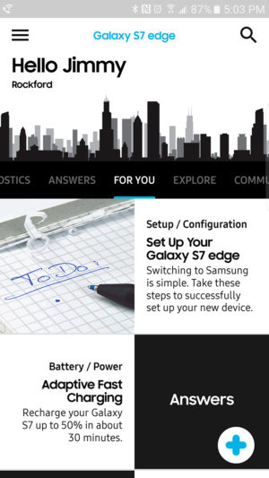Samsung+ For You AA