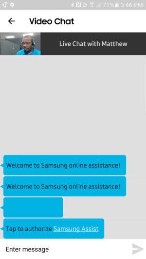 Samsung+ Live Help AA 3