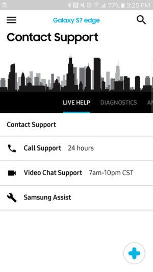 Samsung+ Live Help AA 1