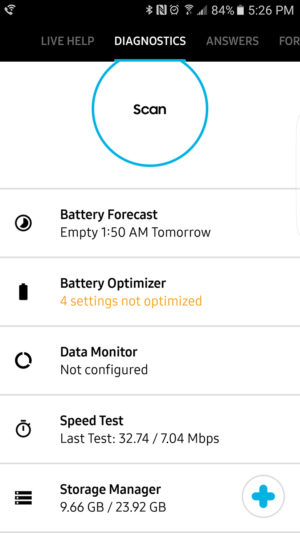 Samsung+ Diagnostics AA 3