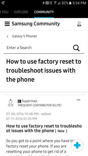 Samsung+ Community AA 1