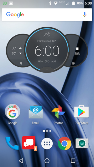 Moto Z Play Droid AA software screenshots 1