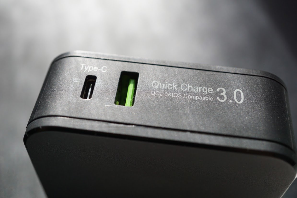 The USB C port is perfect for devices such as the Nexus 6P and 5X which