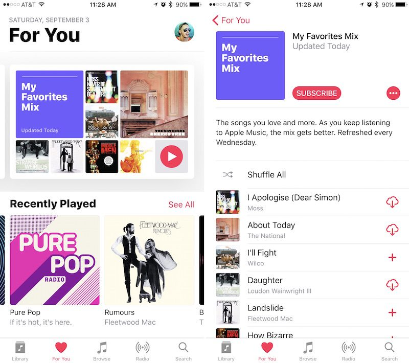 apple music update 1