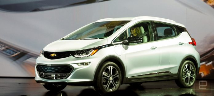 The Chevy Bolt will have a 238-mile range