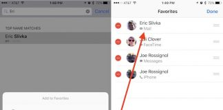 How to Customize Favorite Contacts in iOS 10