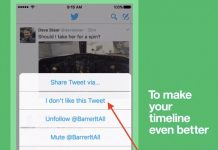 Twitter Rolls Out Algorithm-Training 'I Don't Like This Tweet' Button on iOS