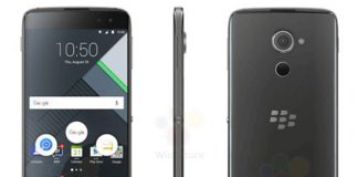 BlackBerry DTEK60 images leak ahead of official unveil