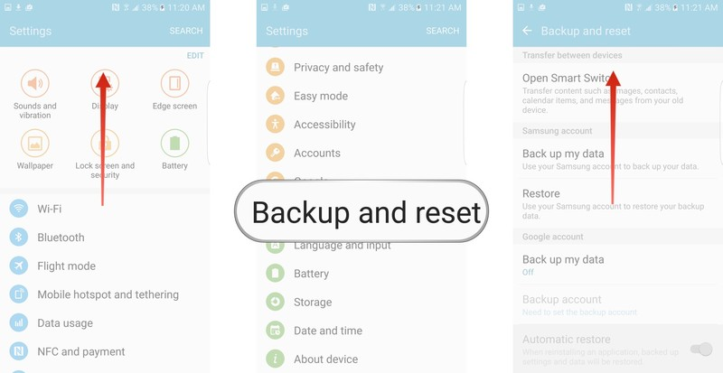 How to factory reset an Android phone - AIVAnet