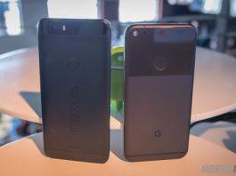 Google Pixel XL vs Nexus 6P first look