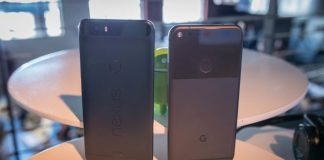 Google Pixel XL vs Nexus 6P first look
