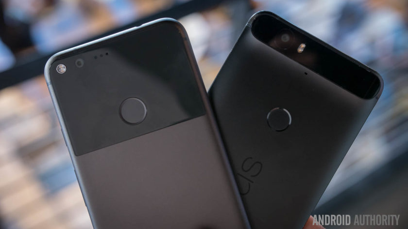 google pixel xl vs nexus 6p quick look aa-6