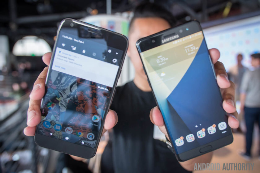 google pixel xl vs galaxy note 7 quick look aa-2