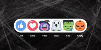 Facebook Updates iOS App With Halloween Themed Reactions and Live Filters