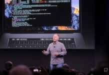 Apple unveils a thinner MacBook Pro with an OLED 'Touch Bar'