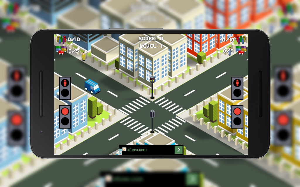 The City Traffic UI