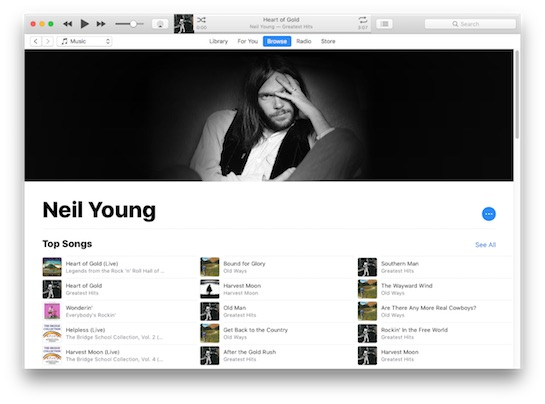 Neil Young's Catalog Returns to Apple Music After He Said Streaming Has 'Worst Quality in History'