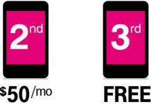 T-Mobile to Offer Four Lines of Unlimited Data for $120 Starting Friday