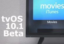 Apple Seeds Fifth Beta of tvOS 10.1 to Developers