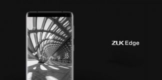ZUK Edge unveiled in China with 86.4% screen-to-body ratio, Snapdragon 821, 6GB RAM