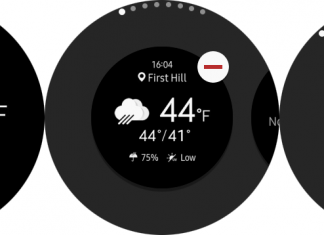 How to rearrange the Samsung Gear S3's app drawer and widgets