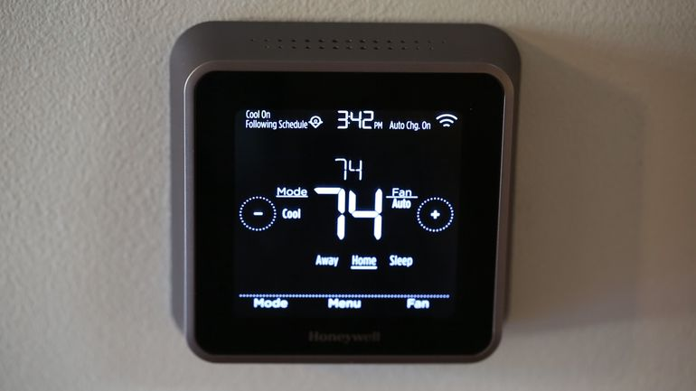 Image result for carrier 5c smart thermostat