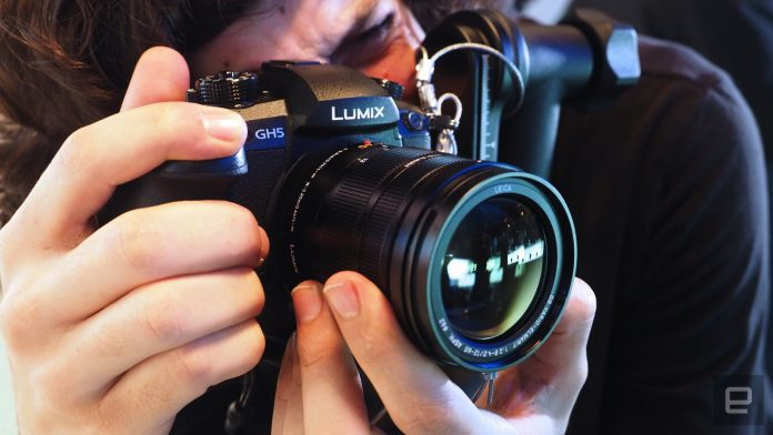 Panasonic's Lumix GH5 is even bulkier in person