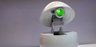 Panasonic's companion robot is a cute projector trapped in an egg
