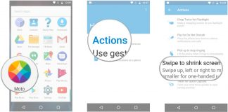 How to use one-handed mode on the Moto G4 and G4 Plus