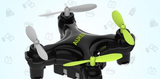 At just $24 you won't be afraid to try some tricks with this mini drone