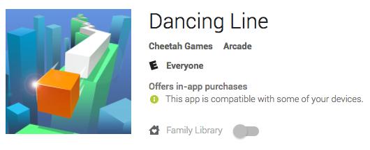 Dancing Line Informational