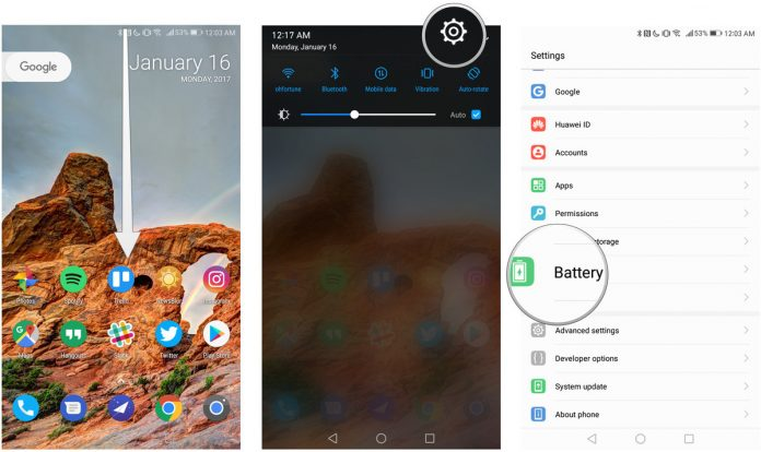 """How to disable """"power-intensive app found"""" notification on the Huawei Mate 9"""