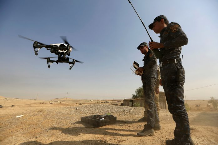 ISIS has converted commercial drones into bombers