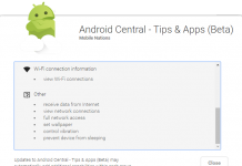 The problem with Android permissions is too much information and not enough information all at once