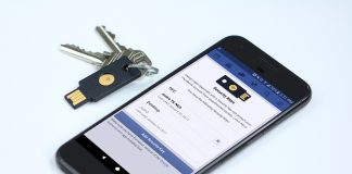 Facebook offers extra security with USB key support