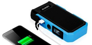 Charge your phone or give your car a boost with Suaoki jump-starter, now $90
