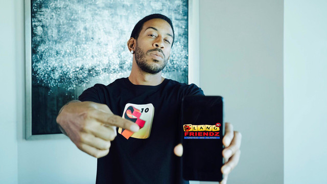 'Scrabble' with slang words is the best way to describe Ludacris' new game