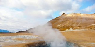 Iceland is drilling a giant hole, not for oil, but for geothermal energy
