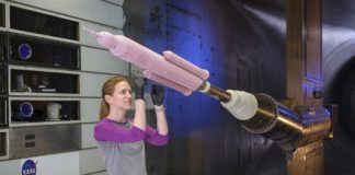 NASA is using high-tech paint to improve the performance of its rockets