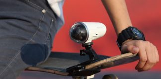 Rollcap 4K action cam will have a built-in 3-axis image stabilizer