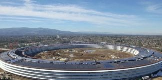 New drone footage shows progress on Apple's 'Spaceship' Campus 2