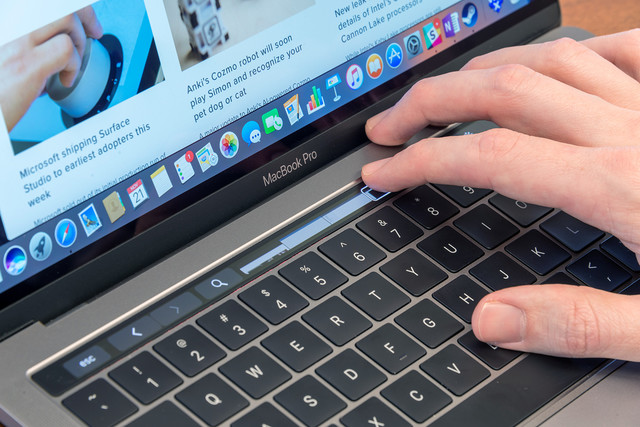 Flunking the bar: MacBook Pro's Touch Bar gets boot from N.C.'s lawyer exam