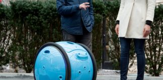 Check out this personal cargo robot from the maker of Vespa scooters