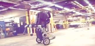 Leaked Boston Dynamics video shows 'nightmare inducing' new robot in action