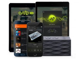 AmpMe's speaker-linking app adds access to your Spotify library