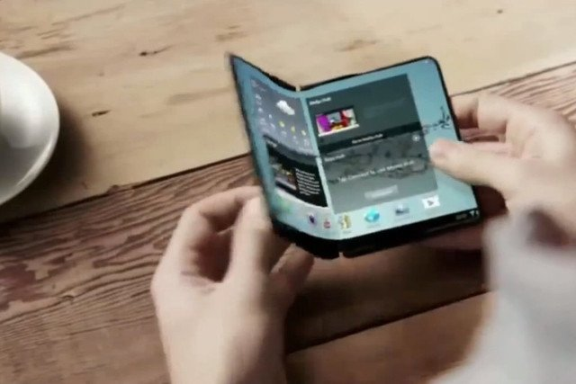 Samsung files a patent for a flexible device screen