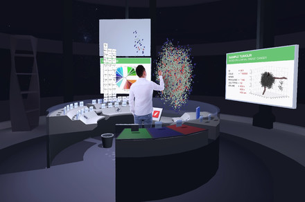 Oncologists will be able to walk through 3D tumors with new VR system
