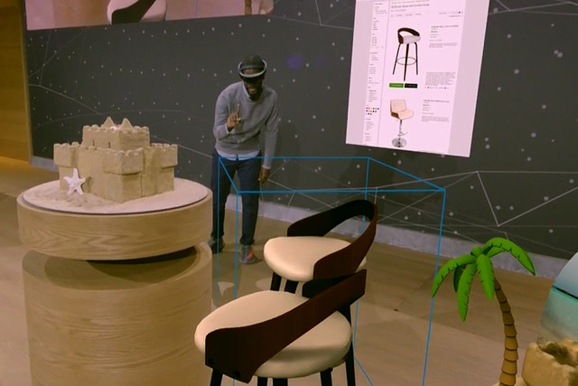 Spectator View provides a looking glass for all to see HoloLens holograms