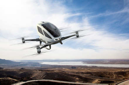 This autonomous flying taxi will start picking up passengers this summer, apparently